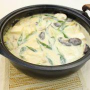 白菜豆乳鍋