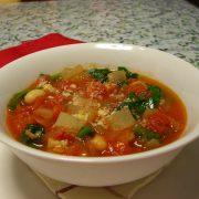 冬野菜とトマトのスープ