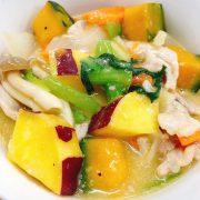 豚肉と彩り野菜のクリーム煮